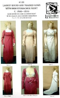18th and Early 19th Century Women's Sewing Patterns