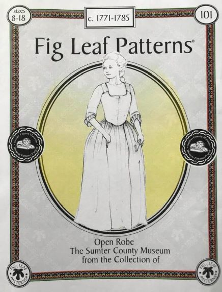18th Century Women/'s Wired Cap Pattern  by Mill Farm Patterns*