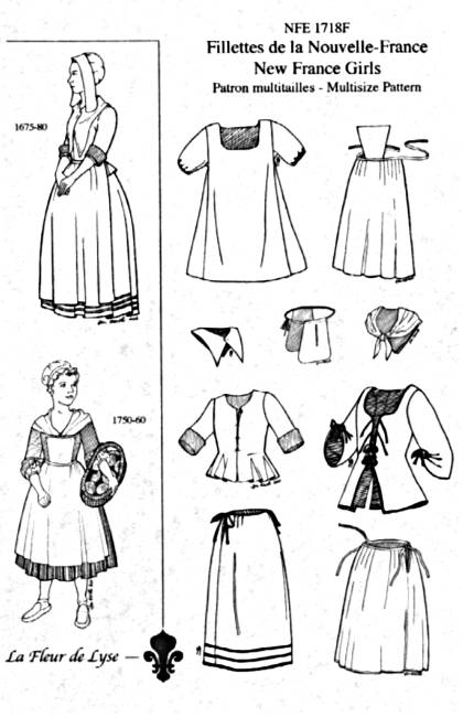 17th, 18th and Early 19th Century Children\'s Sewing Patterns