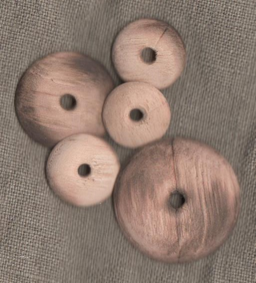 Wooden Button Molds